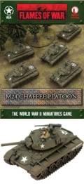 15mm WW2 US M24 Chaffee Platoon (5)