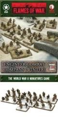 15mm WW2 US Engineer Combat Company (Winter)