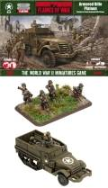 15mm WW2 US Armoured Rifle Platoon