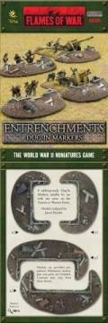 15mm WW2 Defences - Dug-In Markers - Entrenchments (8)