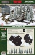15mm WW2 Scenery - Small Pine Wood: Winter