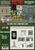 15mm WW2 Scenery - House Extensions