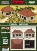 15mm WW2 Scenery - Italian Houses (2)