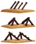 15mm WW2 Defences - Obstacles - Beach Obstacles (12)