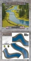 15mm WW2 Scenery - River Bends