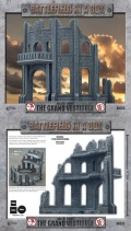 28mm Scenery - Hall of Heroes - Grand Vestibule