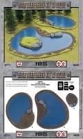 15mm WW2 Scenery - Ponds