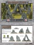 28mm Scenery - Rocky Outcrops (New)