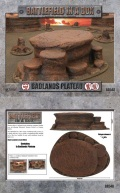 15mm/28mm Scenery - Badlands Plateau