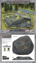 15mm WW2 Scenery - Extra Large Rocky Hill