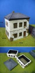 15mm WW2 Scenery - European House FRANCE