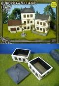 15mm WW2 Scenery - European Village (ITALY)