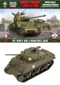 15mm WW2 US Sherman Platoon (5)