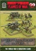15mm WW2 British 3.7` Heavy Anti-Aircraft Platoon (2)