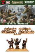 15mm WW2 US 29th Infantry Division, US Assault Company
