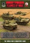 15mm WW2 German 7.5cm PaK40 auf RSO Tank Hunter Platoon (4)