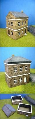 15mm WW2 Scenery - European House NORMANDY
