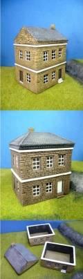 15mm WW2 Scenery - European House NORMANDY