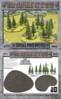 15mm WW2 Scenery - Small Pine Wood (14)