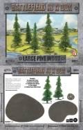 15mm WW2 Scenery - Large Pine Wood (10)