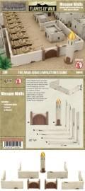 15mm WW2 Scenery - Mosque Walls