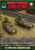 15mm WW2 German SdKfz 251/20 (Uhu) Platoon (2)