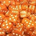 10d6 12 mm tömör narancssárga / 10d6 12mm Solid Orange (10)