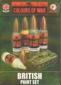 Flames of War Paint Sets - British Paint Set (5)