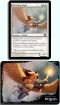 MTG - Oversized Card - BLINDING ANGEL
