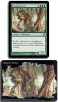 MTG - Oversized Card - VERDANT FORCE