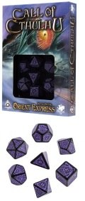 Call of Cthulhu - Horror on the Orient Express Dice Set (7)
