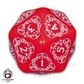 Level Counter - d20 Red & White (1)