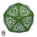 Level Counter - d20 Green & White (1)