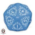 Level Counter - d20 Blue & White (1)