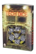 Tech - White & Black Dice Set (7)