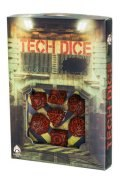 Tech - Red & Black Dice Set (7)
