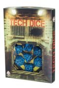 Tech - Blue & Black Dice Set (7)