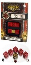 Warmachine - Khador Faction d6 Dice (6)