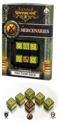 Warmachine - Mercenaries Faction d6 Dice (6)