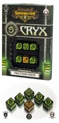 Warmachine - Cryx Faction d6 Dice (6)