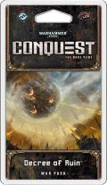 Warhammer 40.000 - Conquest LCG - Planetfall Cycle - DECREE OF RUIN War Pack