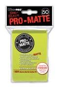 KÁRTYAVÉDŐ / DECK PROTECTORS - Pro-Matte Non-Glare - Bright Yellow (50)