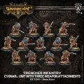 Warmachine - Cygnar - Unit - Trencher Infantry (13)