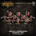Warmachine - Khador - Unit - Assault Kommandos (10)