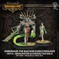 Warmachine - Cryx - Warcaster plus Solo - Goreshade the Bastard and Deathwalker (2)
