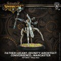 Warmachine - Convergence - Warcaster - Father Lucant, Divinity Architect