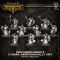 Warmachine - Cygnar - Unit, Allies - Precursor Knights (10)