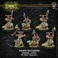 Warmachine - Circle Orboros - Unit - Tharn Ravagers (6)