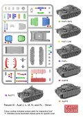 15mm WW2 German Reinforcements Panzer III J, L, M and N Tank (1)