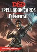 D&D 5th Ed. - Spellbook Cards - ELEMENTAL SPELL DECK (43 Cards)